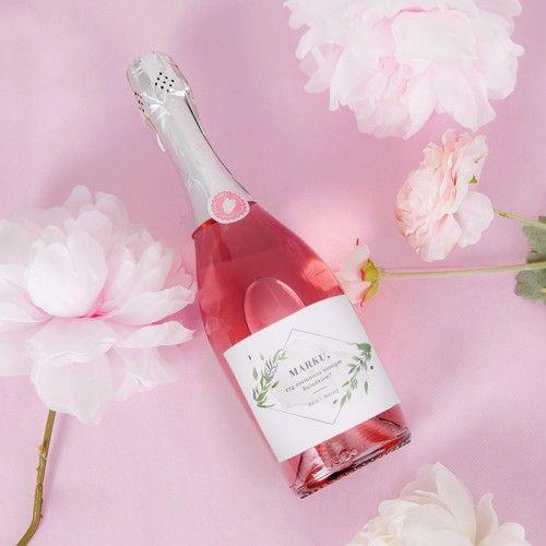 Szampan Wino Musujace Czy Zostaniesz Naszym Swiadkiem 750ml Duze Srebrne Imie Wine Bottle Rose Wine Bottle Bottle