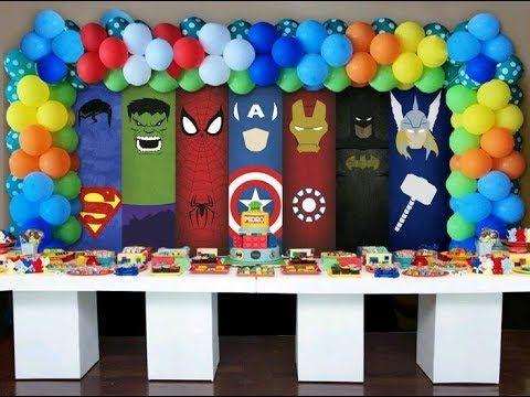 Fiesta De Avengers Youtube Cumpleaños De Los Vengadores Fiesta De Los Avengers Fiesta De Los Vengadores