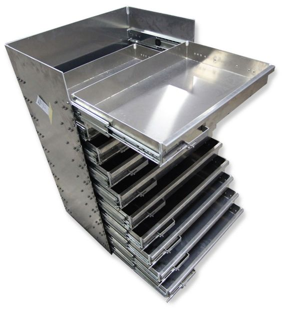 Service Body Tool Cabinet : Truck bed storage slide out drawers for or