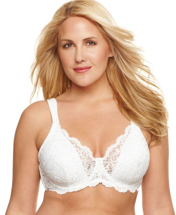 Leading Lady Scalloped Lace Underwire 5044
