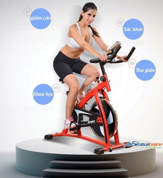 Dòng xe đạp tập thể dục là một dụng cụ tập thể dục thể dục hoàn hảo để sử dụng trong nhà