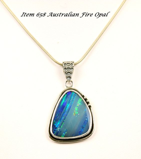This Beautiful Australian Blue Fire Opal speaks for It's self. The Owner will also own a large Smile to complement this wonderful Stone.