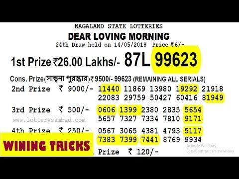 Win 26 Lakhs Nagaland Lottery With My Tricks Lucky Number
