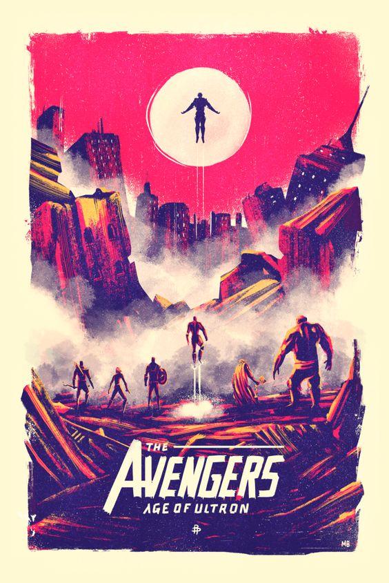Poster Posse – Avengers : Age of Ultron Project   Geek Art – Art, Design, Illustration & Pop Culture !   Art, Design, Illustration & Pop Culture !