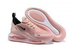Womens Winter Sneakers Nike Air MAX 720/270 Dark pink black ...