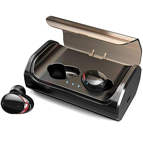 Bluetooth Kopfhorer Holyhigh Kabellos In Ear Sport Joggen Ohrhorer Bluetooth 5 0 Mit 3000mah Batterie 120 Stunden Spielzeit Ipx6 Wasserdicht Mikrofon Fur Ios