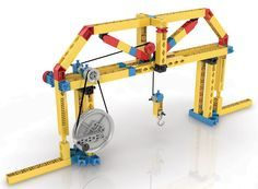 Learn how pulleys can be used to transfer force with reduced friction and how to increase force or speed at amazing levels. Build 5 working models including an oil drill, a stationary bike, cranes, br