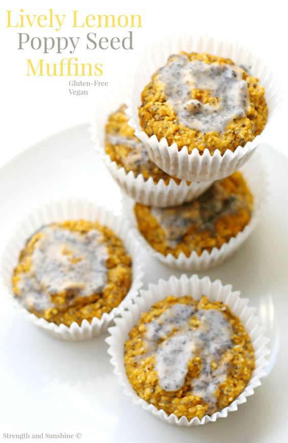 ... poppy seed muffins! A fun, veggie-packed, gluten-free, vegan breakfast