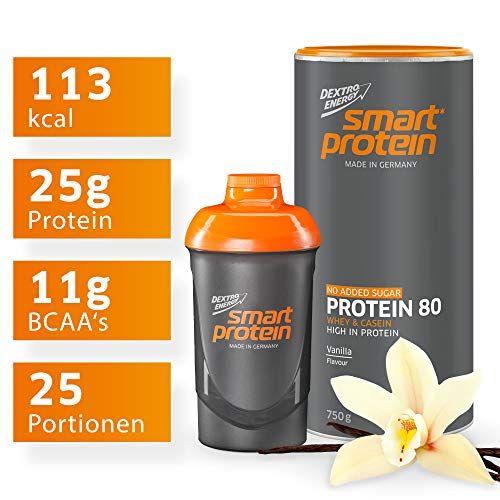 Dextro Energy Protein Pulver Vanille Mit Protein Shaker Bpa Frei 25 Portionen Leckerer Protein Shake Vanille In 2020 Smart Protein Protein Shaker Casein Protein