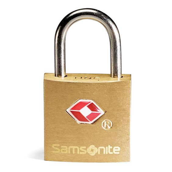 Samsonite Luggage Lock and Keys Set, Gold