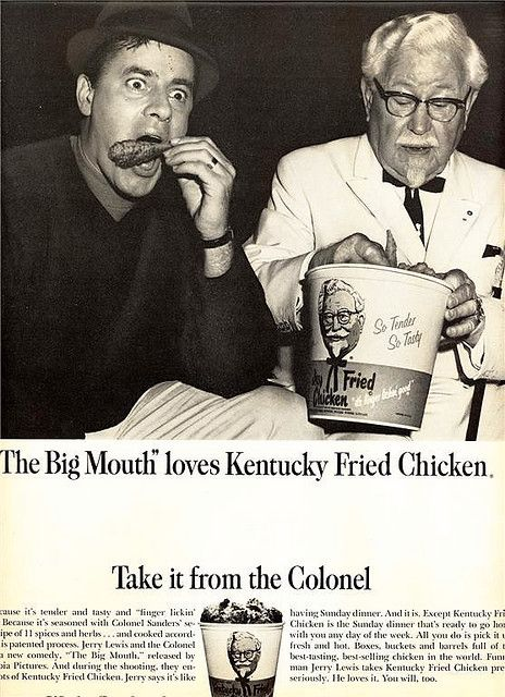 Jerry Lewis and The Colonel.