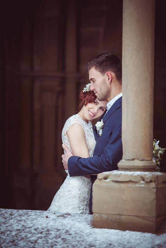 Brautpaarshooting Kloster Maulbronn Madeline Daniel Hochzeitspaar Hochzeitsfotograf Hochzeit