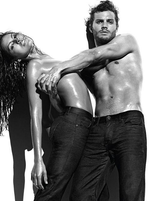 Eva Mendes and Jamie Dornan in new Calvin Klein adverts # ...