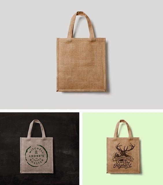 Download Eco Bag Mockup Psd Bag Mockup Eco Bag Graphic Design Freebies
