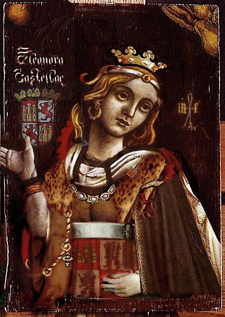 Eleanor of Castile, b.1241 d.28 November 1290, first wife of Edward I and Queen Consort of England. Sixteen children.