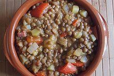 Spanischer Linseneintopf, vegetarisch (Rezept mit Bild) | Chefkoch.de