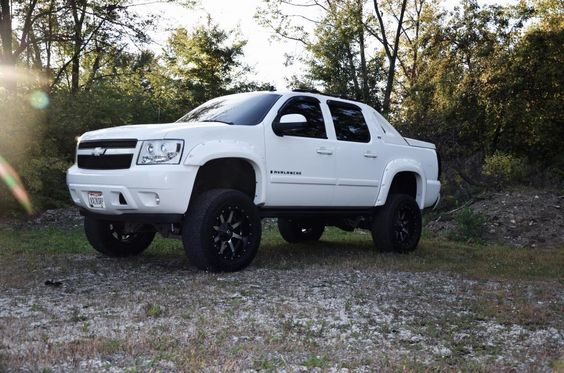 avalanche fender flares   Custom Lifted Avalanche LTZ & More - Chevy Truck Forum   GMC Truck ...
