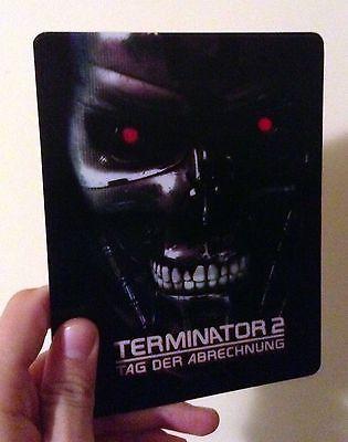 Terminator 2 Tag der Abrechnung Magnet 3D lenticular Flip effect for Steelbook $15.99