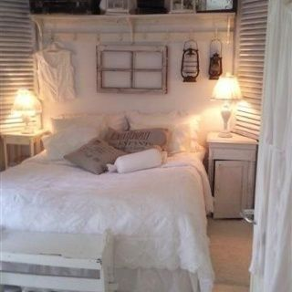 Shabby chic bedroom! #trending #furniture #designs #decor explore freeds.net