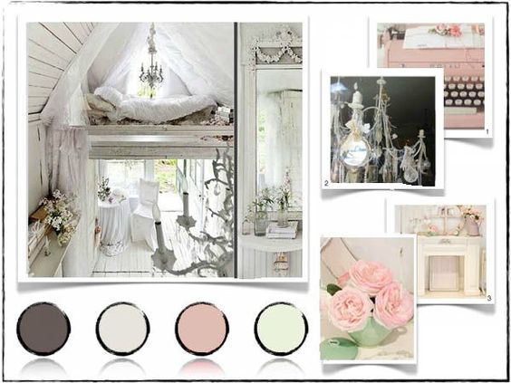 planche tendance bureau moderne 600x450 copie technique pinterest shabby design et chic. Black Bedroom Furniture Sets. Home Design Ideas