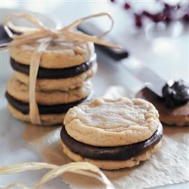 Fudge-Filled Irresistible Peanut Butter Cookies