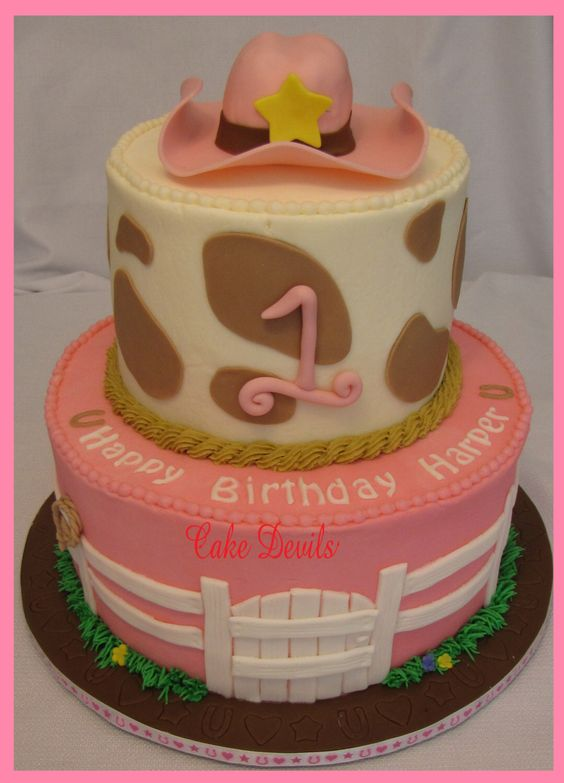 Rodeo birthday cake toppers Sweets photos blog