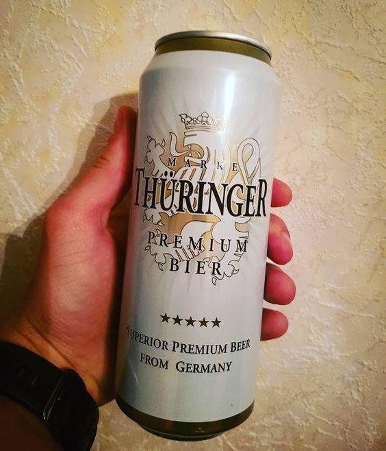 Bia Thuringer Premium 4.3% - Lon 500ml - Bia Nhập Khẩu TPHCM