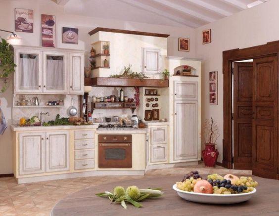 Cucina in muratura country artigianale Cuneo Piemonte Liguria 16 ...