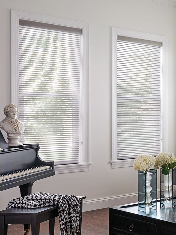 Simple Yet Sophisticated 2 Quot Bali Sheer Shades Are Your