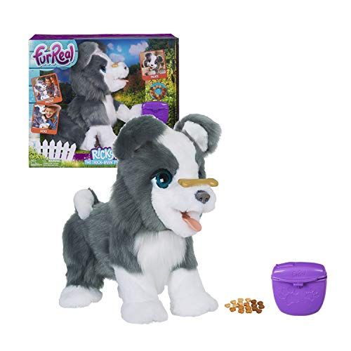 Furreal Ricky The Trick Lovin Pup Fur Real Friends Little Live Pets Electronic Toys For Kids