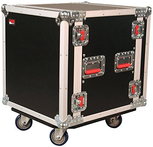 Gator 12u 24 Inch Deep Audio Road Rack Case With Casters G Tour12uca 24d Http Www Instrumentssale Com Gator 12u 24 Inch D Road Cases Pro Audio Audio Rack
