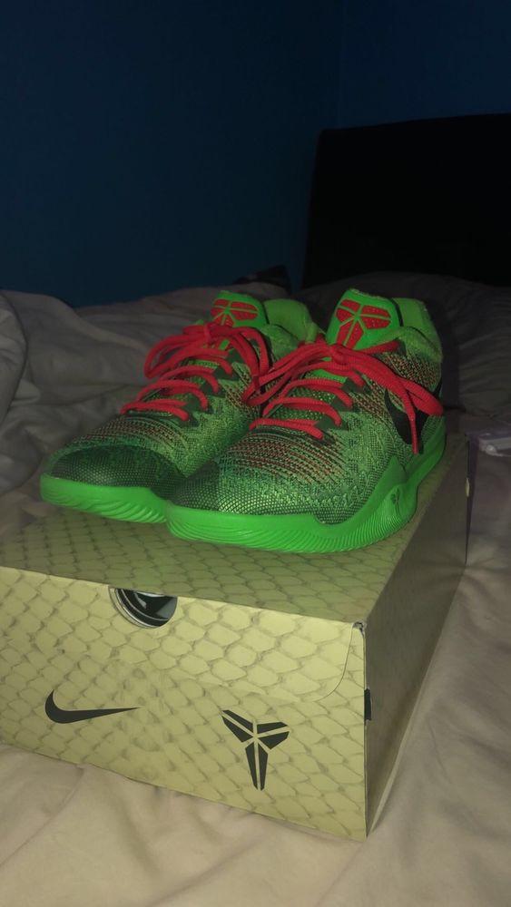 Kobe Nike Mamba Rage Grinch Electric