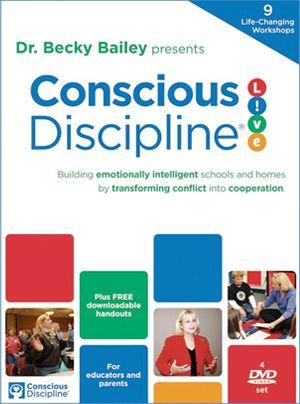 Conscious Discipline DVD series - Transform conflict into cooperation. Build Character, Respect, etc