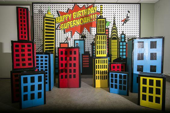 free superhero background - Google Search