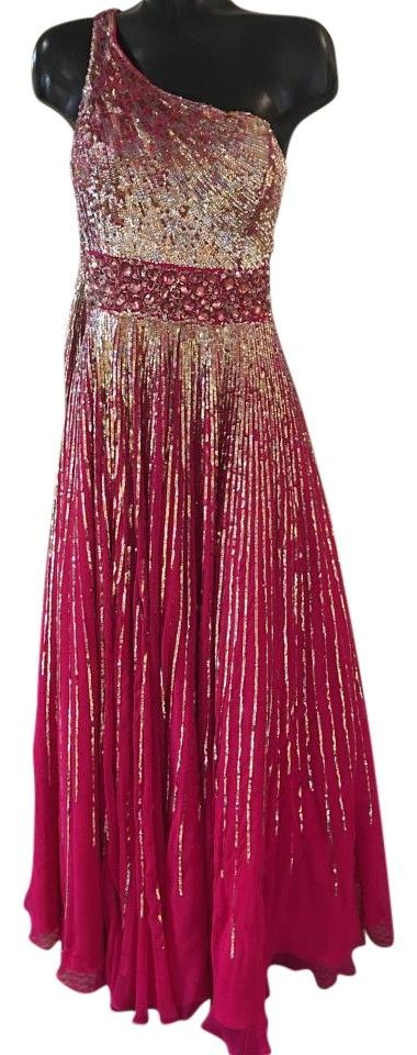Sherri Hill Fuschia 8506 Dress. Free shipping and guaranteed authenticity on Sherri Hill Fuschia 8506 Dress at Tradesy. Size 16 Recommended Measurements: Bust:42 Waist:33...