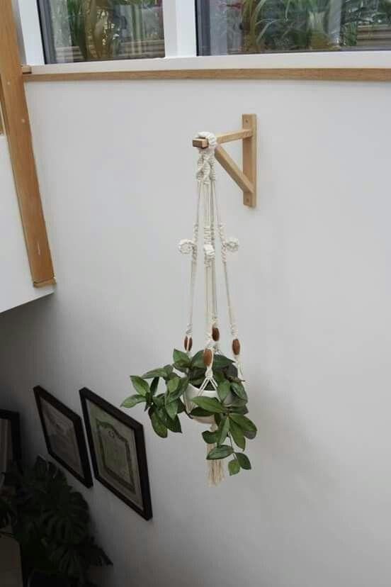Ikea Shelf Bracket As Plant Hanger Ikea Plant Hanger Plant