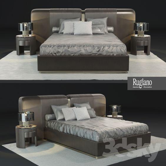 Bed Boconcept Lugano 3D Max - 3D Model 3D-Modeling Pinterest - einladende traumbetten first class komfort