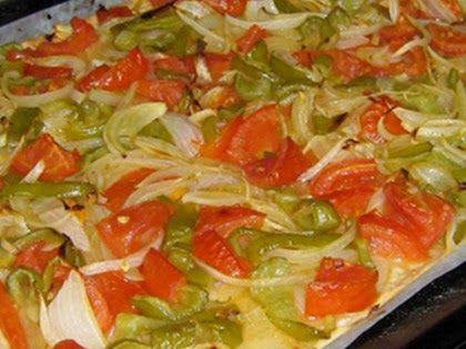 Varomeando coca de verduras thermomix saladas pinterest - Bollycao thermomix ...