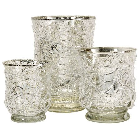 I pinned this 3 Piece Lisle Candleholder Set from the Simple Luxuries event at Joss and Main!