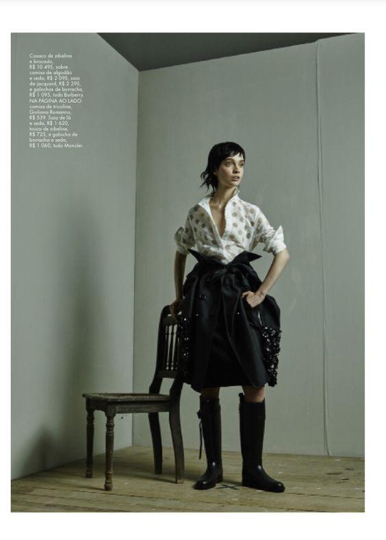 Revista Elle/Edição de moda Flavia Pommianosky e Davi Ramos/Produção de moda Well Santos