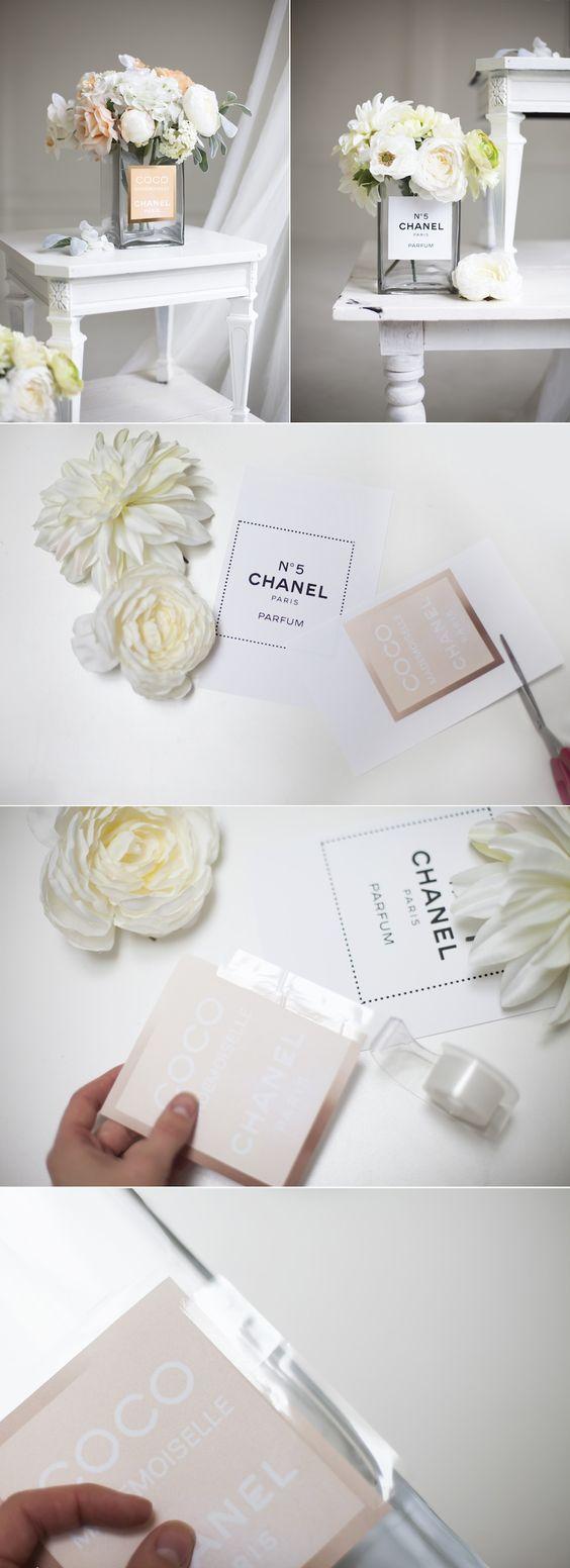 Perfume bottled Inspired Vase: