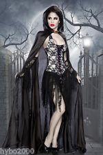 Fasching Kostüm Gothic Kleid Spitze Vampirkostüm Vampir Kostüm Dracula Faschin