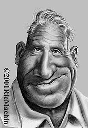 Spencer Tracy Caricature    Sportcartoons Network works in conjunction with the best caricature artists in the world.