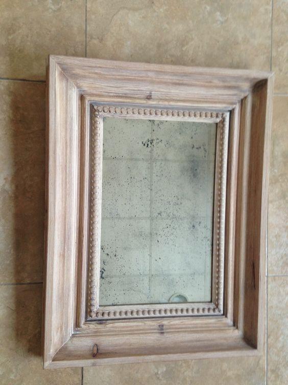envejecemos espejos artesanalmente quedando unas piezas