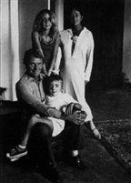 Familie Bennent: Anne, Elaine, David, Heinz von Stefan Moses