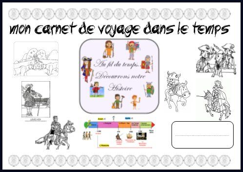 Le carnet de voyage à travers le temps version2 - Chez Maliluno