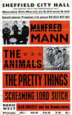 Concerts & Package Tours : 1965 (March - April)