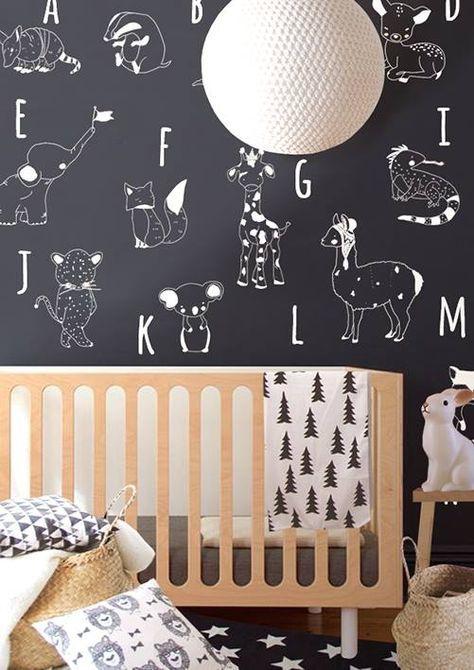 inspirations cette petite chambre en noir et blanc partie 2 - Petite Chambre Bebe 2