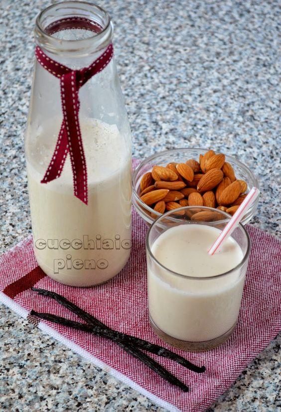 Cucchiaio pieno - yoga e receitas saudáveis vegetarianas e vegana! Com passo-a-passo e fotografia.: Leite de amêndoas