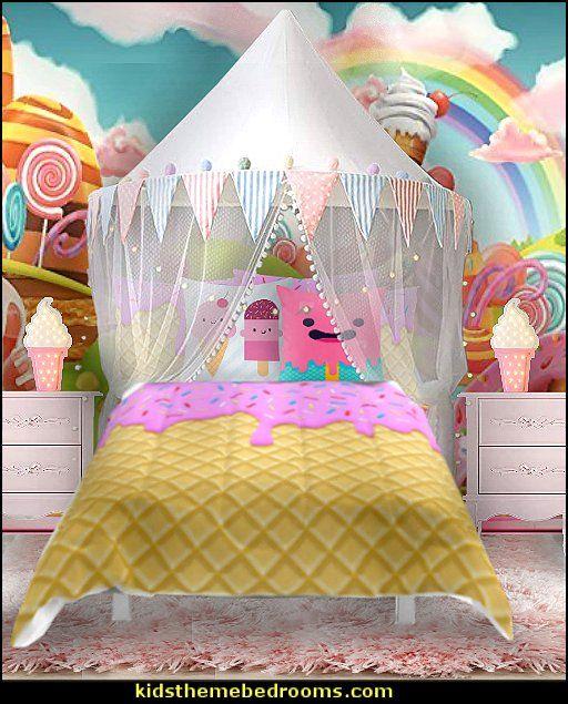 Ice Cream Bedding Cupcake Candy Bedroom Decorating Ideas Cupcakes